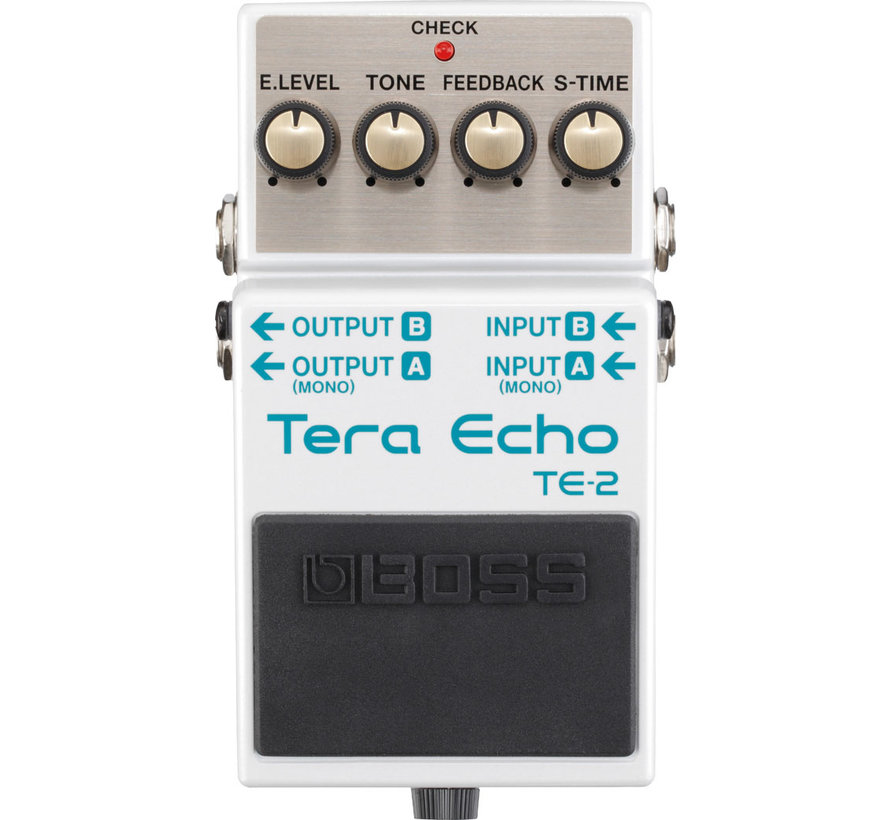 Boss TE-2 Tera Echo gitaar effectpedaal