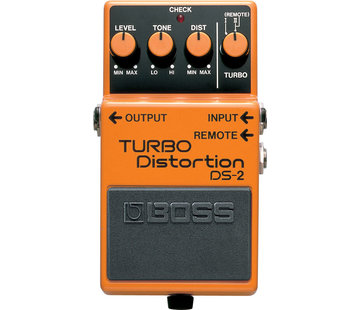 Boss Boss DS-2 Turbo Distortion gitaar effectpedaal