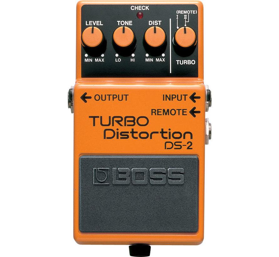 Boss DS-2 Turbo Distortion gitaar effectpedaal