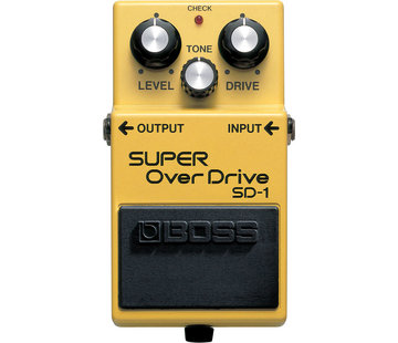 Boss Boss SD-1 Super Overdrive gitaar effectpedaal