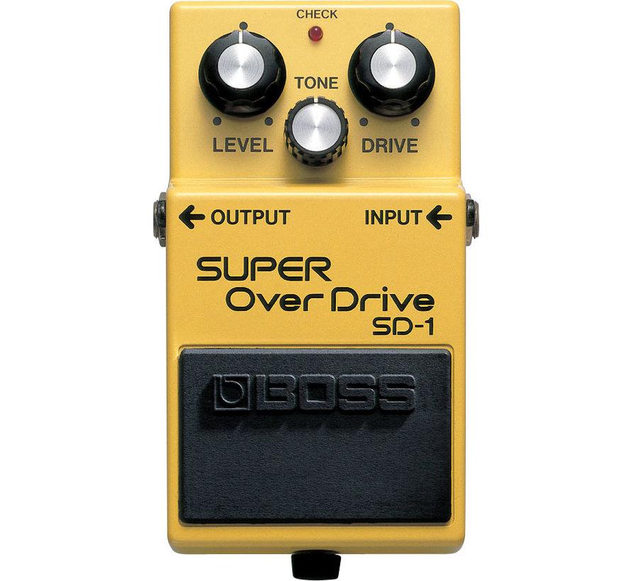Boss SD-1 Super Overdrive gitaar effectpedaal
