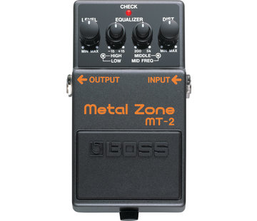 Boss Boss MT-2 Metal Zone gitaar effectpedaal