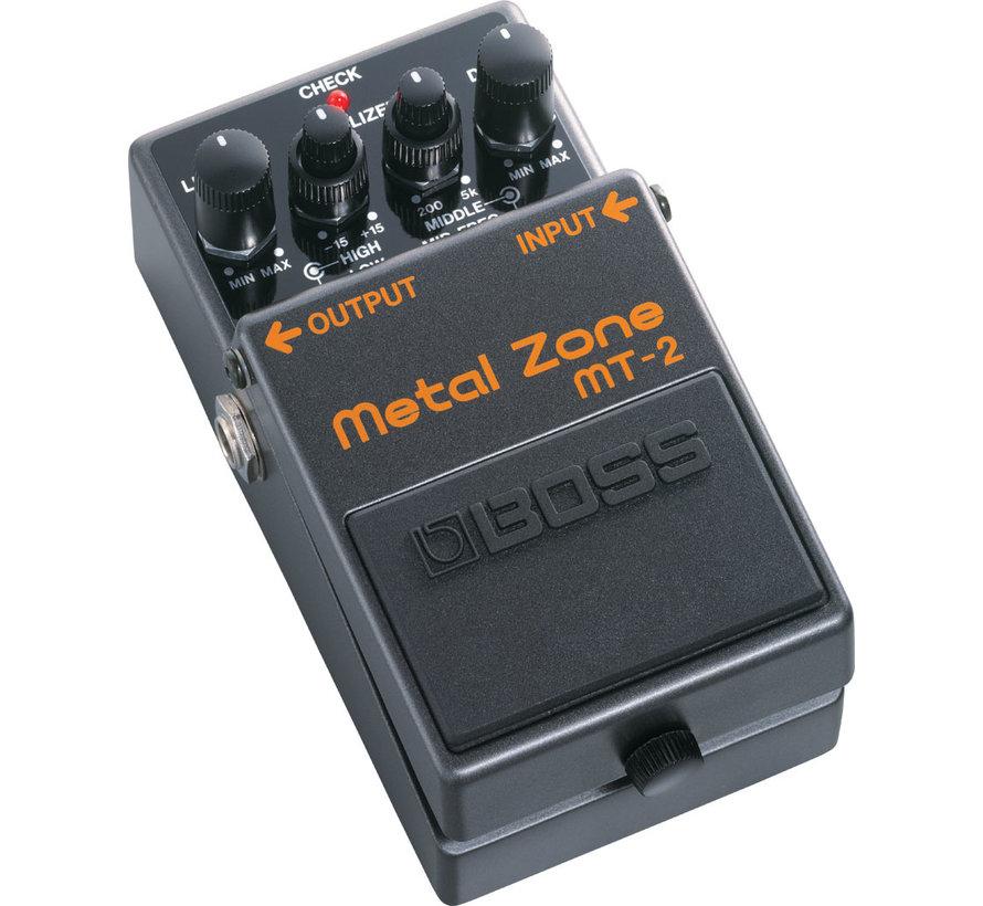 Boss MT-2 Metal Zone gitaar effectpedaal