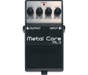 Boss Boss ML-2 Metal Core gitaar effectpedaal