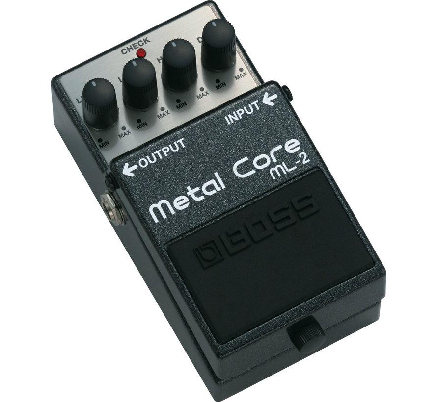Boss ML-2 Metal Core gitaar effectpedaal