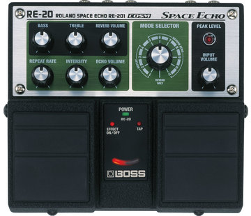 Boss Boss RE-20 Space Echo gitaar effectpedaal