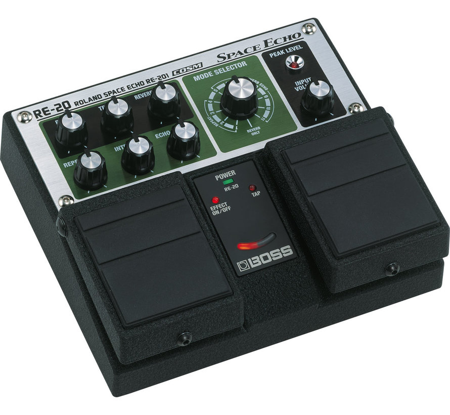 Boss RE-20 Space Echo gitaar effectpedaal