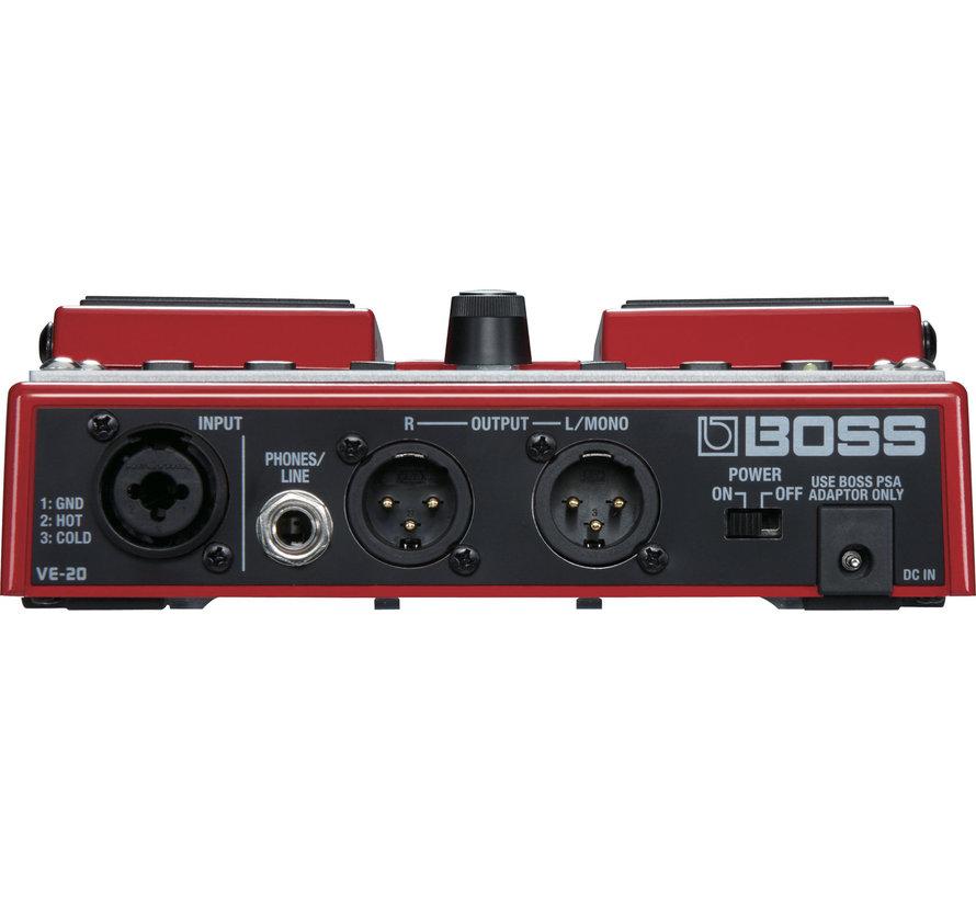 Boss VE-20 Vocal Processor gitaar effectpedaal