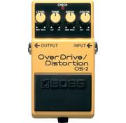 Boss Boss OS-2 Overdrive Distortion gitaar effectpedaal