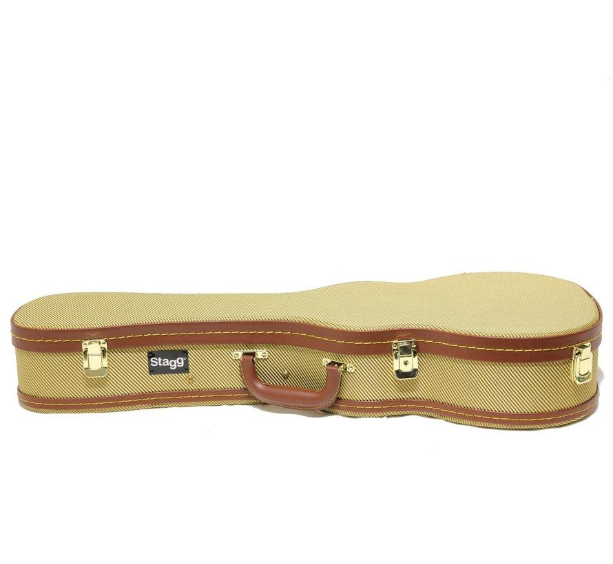 Stagg GCX-UKT GD Koffer voor Tenor Ukelele