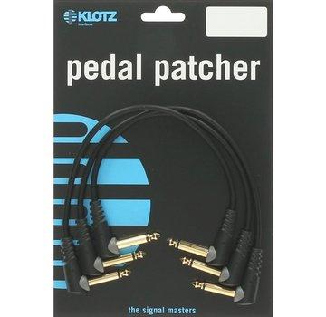 Klotz  Klotz Pedal Patcher 3 stuks 0,3 meter | gitaarkabel