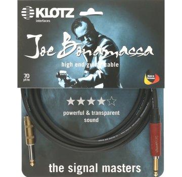 Klotz  Klotz Joe Bonamassa Gitaarkabel met silentPLUG - 6 meter