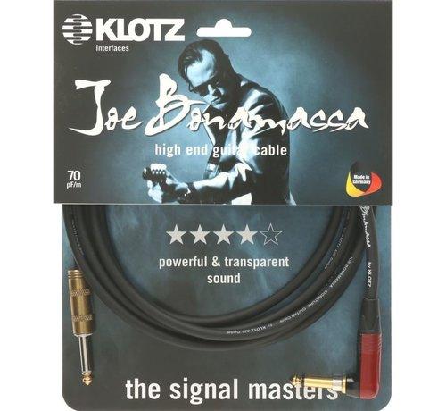 Klotz  Klotz Joe Bonamassa Gitaarkabel met gehoekte silentPLUG - 6 meter
