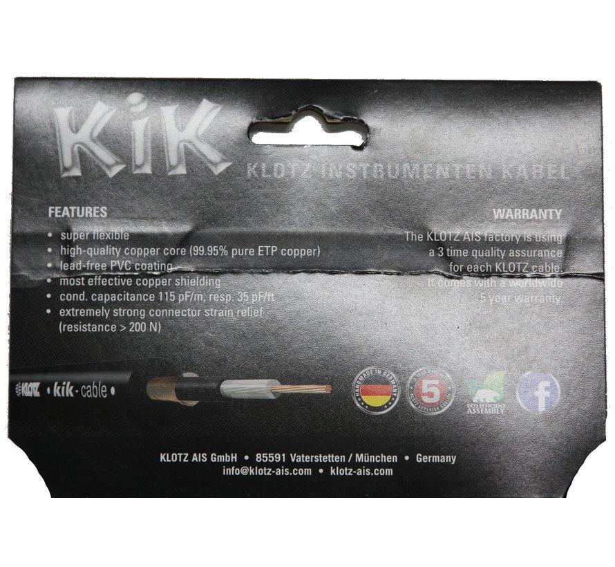 Klotz KIK Pro Instrumentkabel - 6 meter