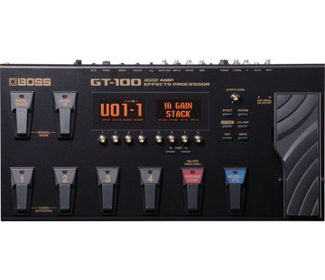 Boss Boss GT-100 Effecten Processor - Multi-effect pedaal
