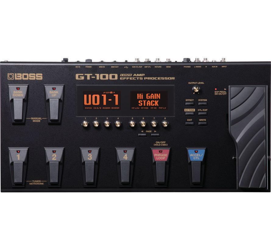 Boss GT-100 Effecten Processor - Multi-effect pedaal