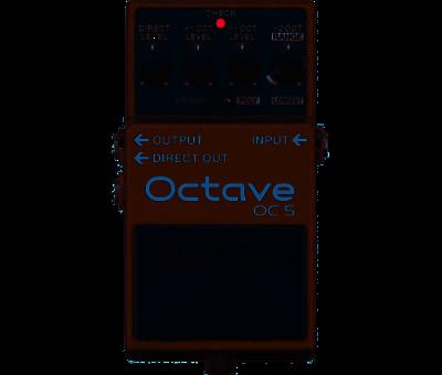 Boss Boss OC-5 Octave gitaar effectpedaal