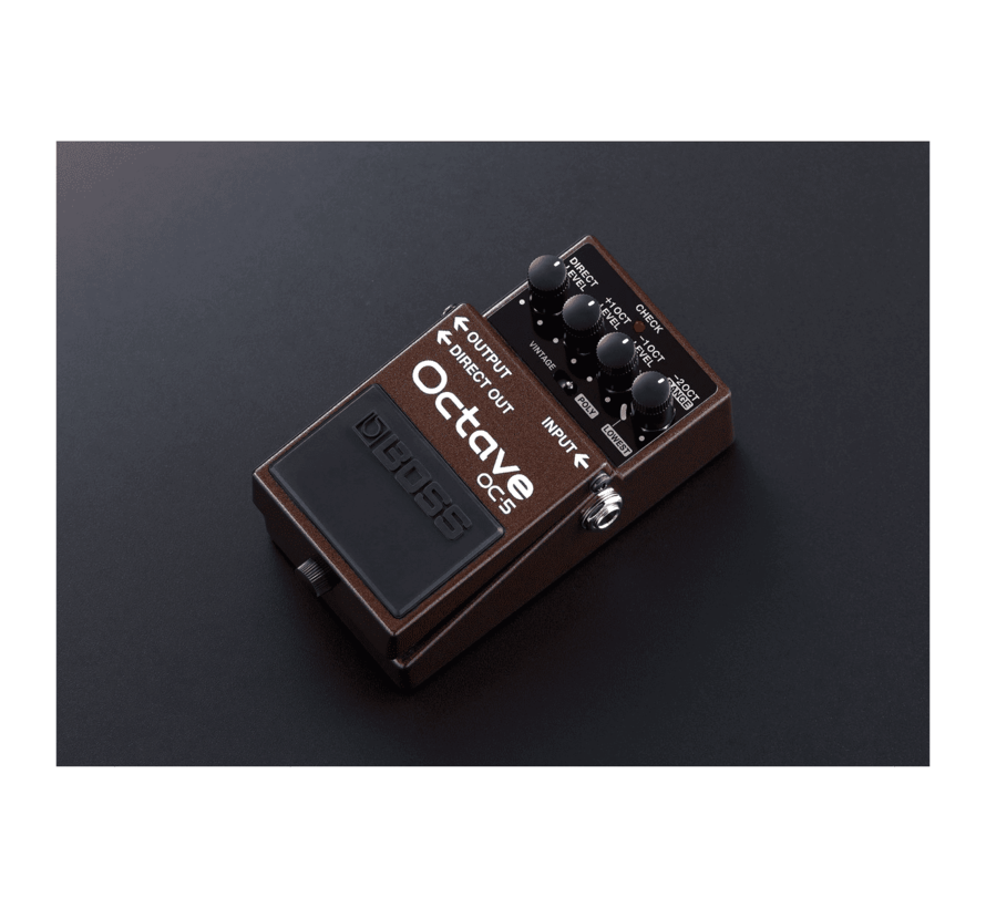 Boss OC-5 Octave gitaar effectpedaal