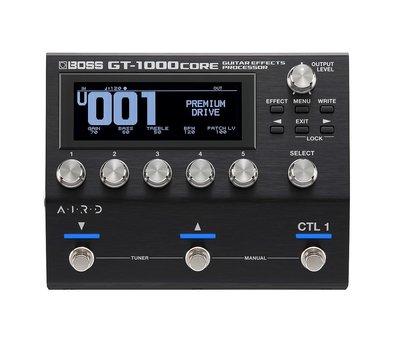 Boss Boss GT-1000 CORE Effecten Processor - Multi-effect pedaal