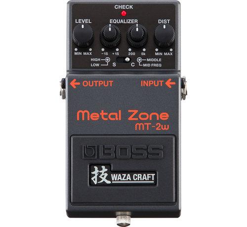 Boss Boss MT-2W Metal Zone Waza gitaar effectpedaal