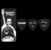 Dunlop Dunlop Johnny Cash plectra doosje + 6 picks | Medium | JCPT01M