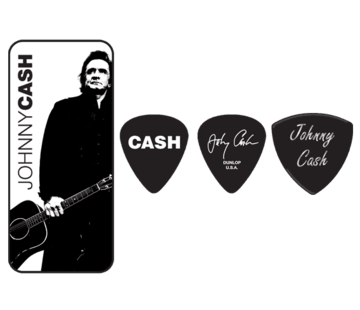 Dunlop Dunlop Johnny Cash plectra doosje + 6 picks | Heavy | JCPT02H