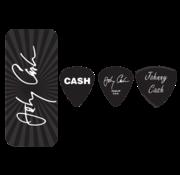Dunlop Dunlop Johnny Cash plectra doosje + 6 picks | Medium | JCPT03M