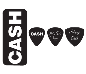 Dunlop Dunlop Johnny Cash plectra doosje + 6 picks | Medium | JCPT04H