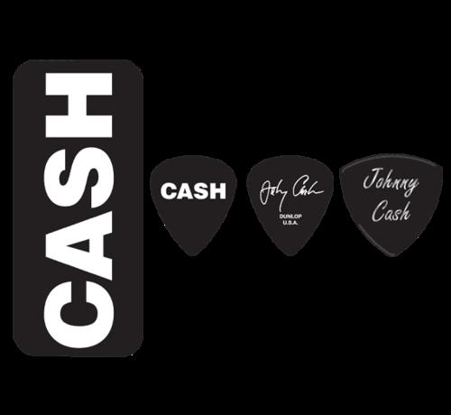 Dunlop Dunlop Johnny Cash plectra doosje + 6 picks | Medium | JCPT04H