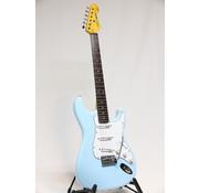 Vintage Vintage V6LB Laguna Blue Stratocaster elektrische gitaar