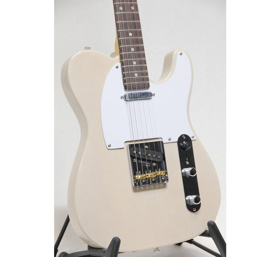 Vintage V62AB Ash Blonde Telecaster elektrische gitaar