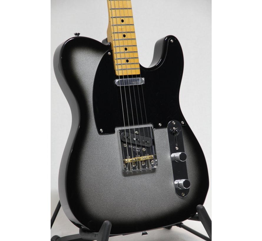 Vintage V75SVB 25th Anniversary Silver Burst Telecaster elektrische gitaar