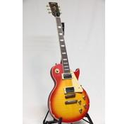Vintage Vintage V100MRCS Distressed Cherry Sunburst Les Paul elektrische gitaar