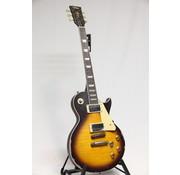 Vintage Vintage V100MRTSB Distressed Tobacco Sunburst Les Paul elektrische gitaar