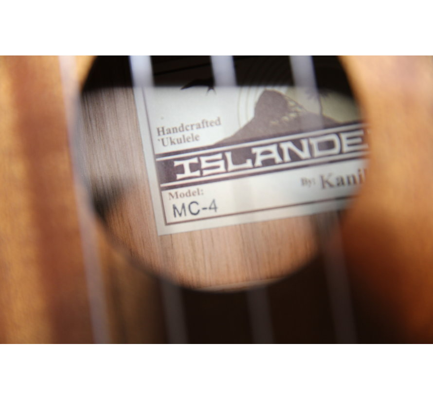 Islander MC-4 Concert Ukelele