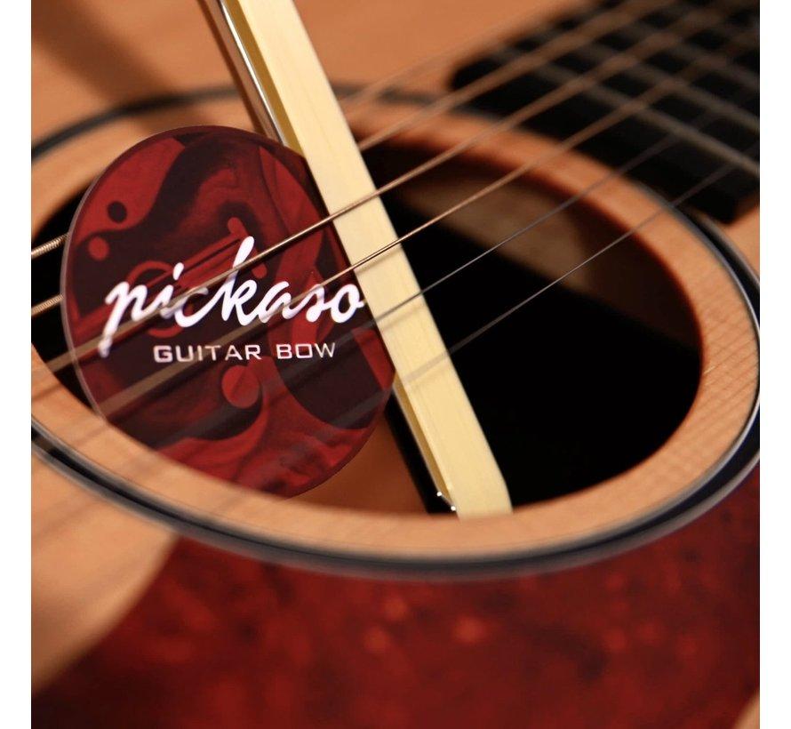Pickaso Guitar Bow | Natural New Zealand Abalone Veneer