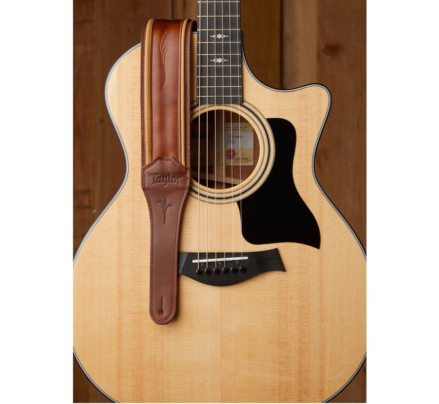 Taylor K250-03 Spring Vine Medium Brown Gitaarband