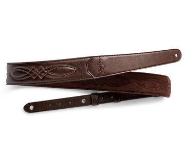 Taylor Taylor 4200-20 Vegan Leather Chocolate Brown Gitaarband