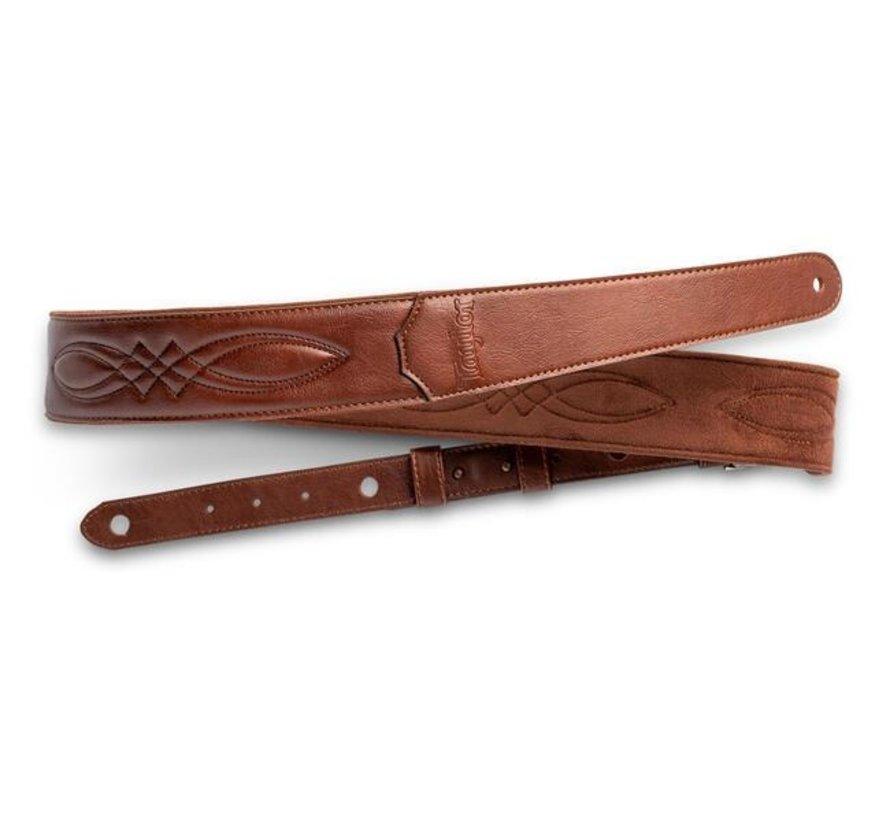 Taylor 4201-20 Vegan Leather Medium Brown Gitaarband