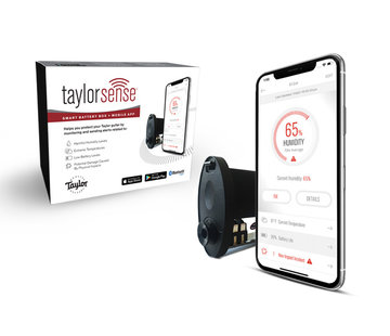Taylor Taylor Taylorsense Smart Battery Box + Mobile App