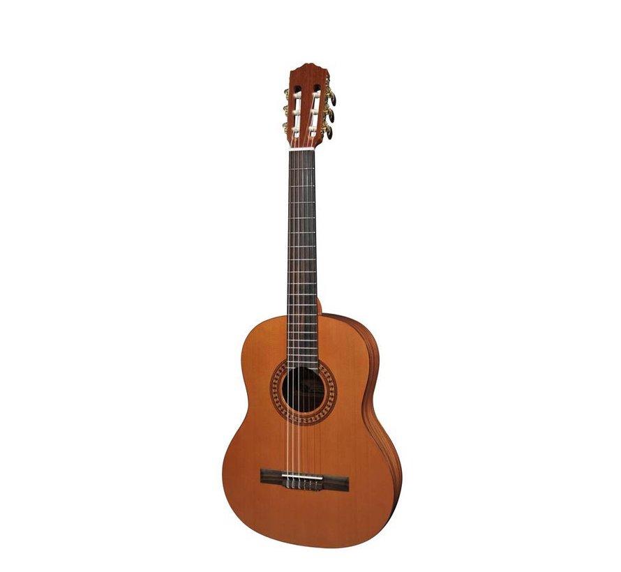 Salvador Cortez CC-22-JR klassieke gitaar | Massief houten bovenblad | Kindergitaar