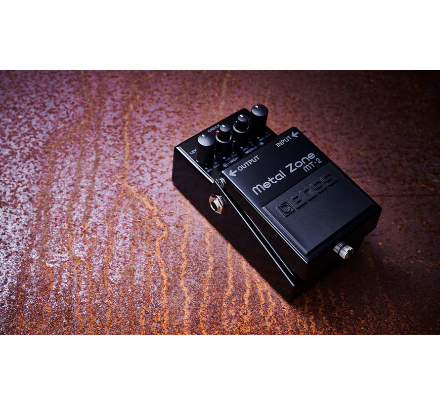 Boss MT-2-3A Metal Zone Limited Edition 30th Anniversary