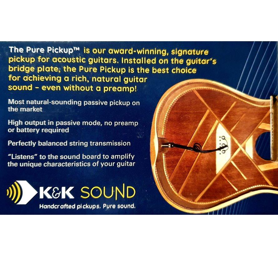 K&K Sound Pure Mini | Pickup voor Akoestische Western gitaar