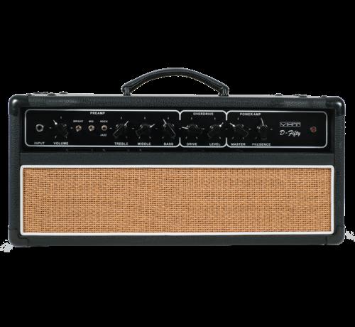 VHT VHT AV-D-50H D-Series D-Fifty Tube Head 50 watt gitaarversterker top met 2-knops voetschakelaar