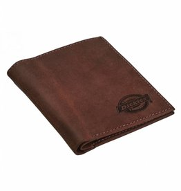 Dickies Dickies Ridgeville Leather Wallet Brown