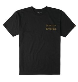 Emerica Pendleton Tee Black