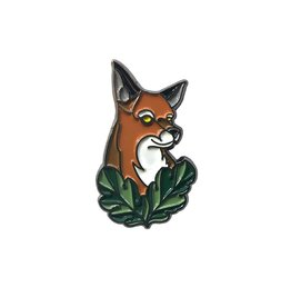 Vault13 Vault13 Pin 'Fox' by WillemXSM