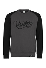 Vault13 Vault13 Sweater Charcoal/Burgundy
