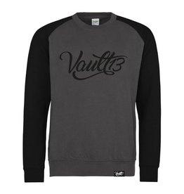 Vault13 Vault13 Sweater Charcoal/Burgundy