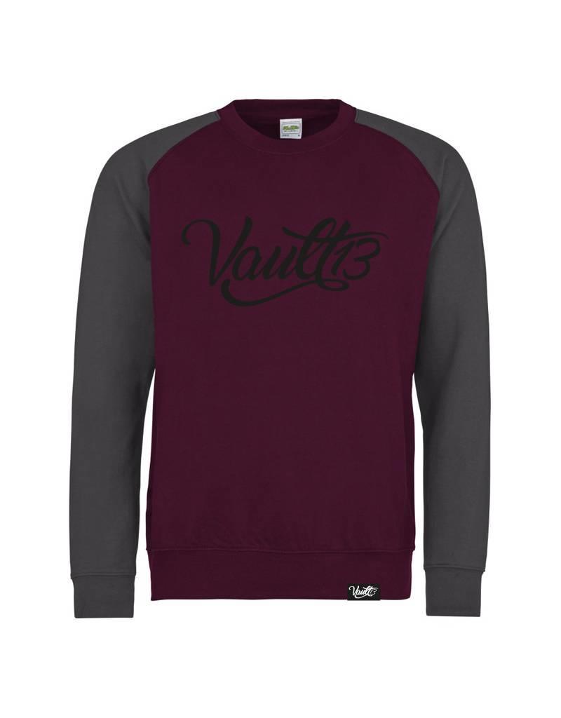 Vault13 Vault13 Sweater Charcoal/Black